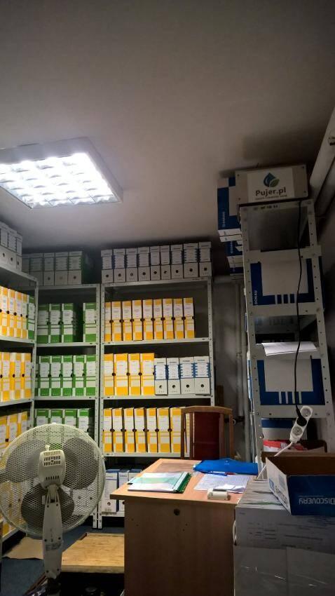 ozonowanie pomieszczeń - ozonowanie archiwum