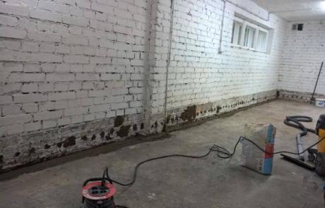 hydroizolacje - izolacja pionowa w budynku